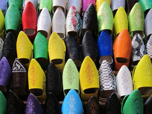 Just-a-small-selection-of-leather-slippers