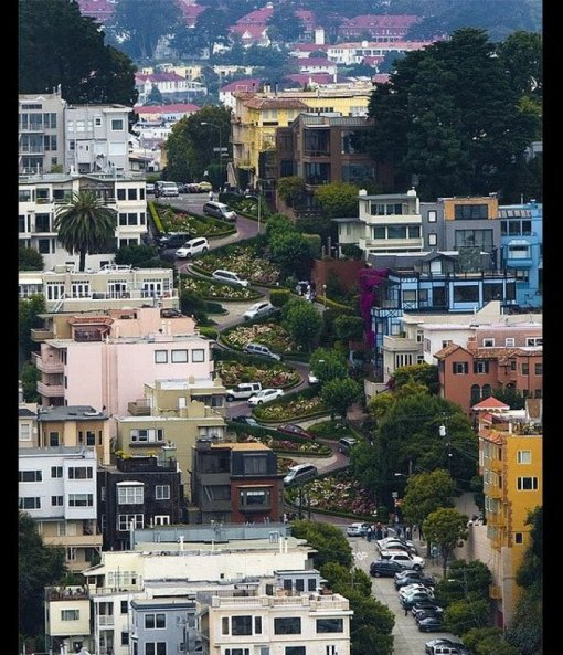 Lombard Street_ San Francisco Photo credit- Vivid Explosion Photography