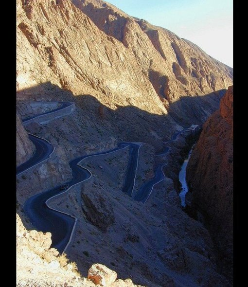 Serpentine Road_ Dades Gorge, Morocco Photo by Ian Chappel