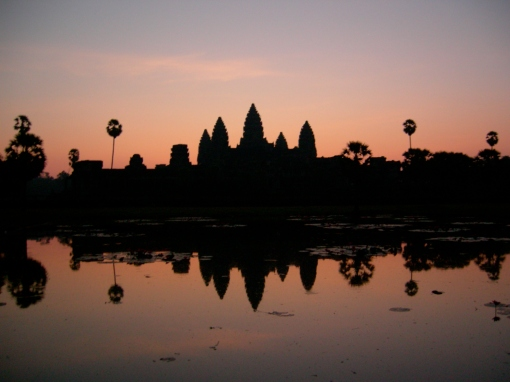 Angkor Wat at sunrise 2